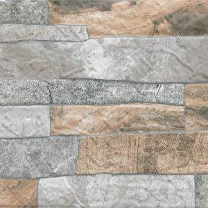 Magma Gris 23x46 pločica zid kamen reljefna