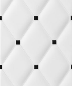 Orion Classic 50x20 bijela crna zidna pločica