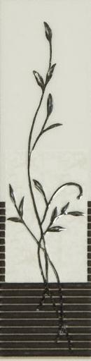Pino Grey Listela pločica motiv cvijet