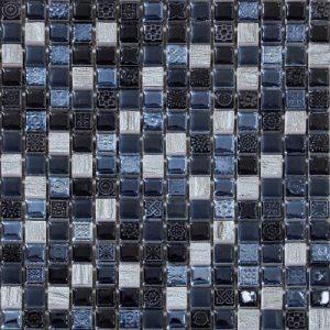 Mozaik Kamen Crni (Mozaik A) LV19